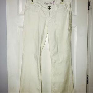 White Trousers Jeans
